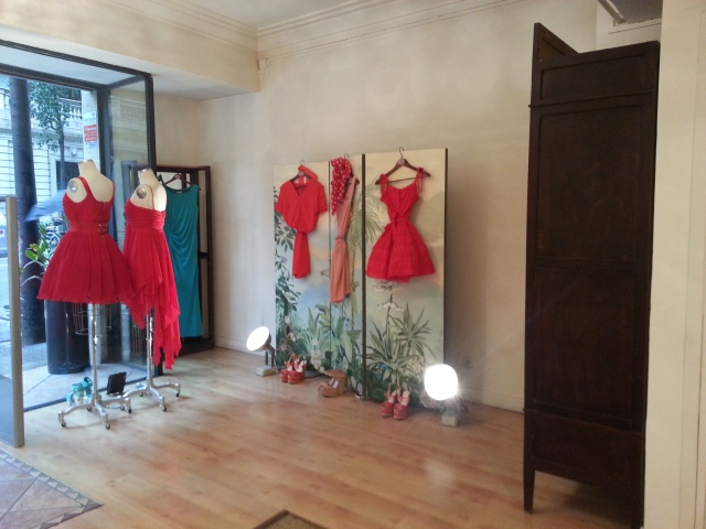 In Red Manoush clothes