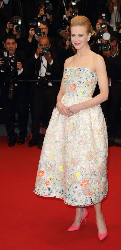 Nicole Kidman Dior Cannes 2013