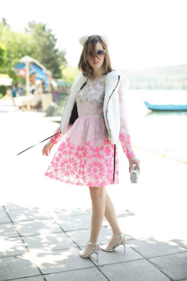 Samantha De Reviziis wearing MANOUSH