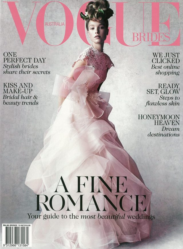 Vogue Brides Vera Wang