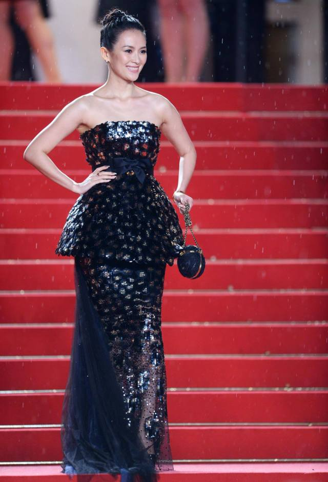 Ziyi Zhang in CHANEL Cannes 2013