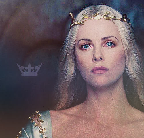 Charlize Theron - Queen Ravenna. Beauty is my power