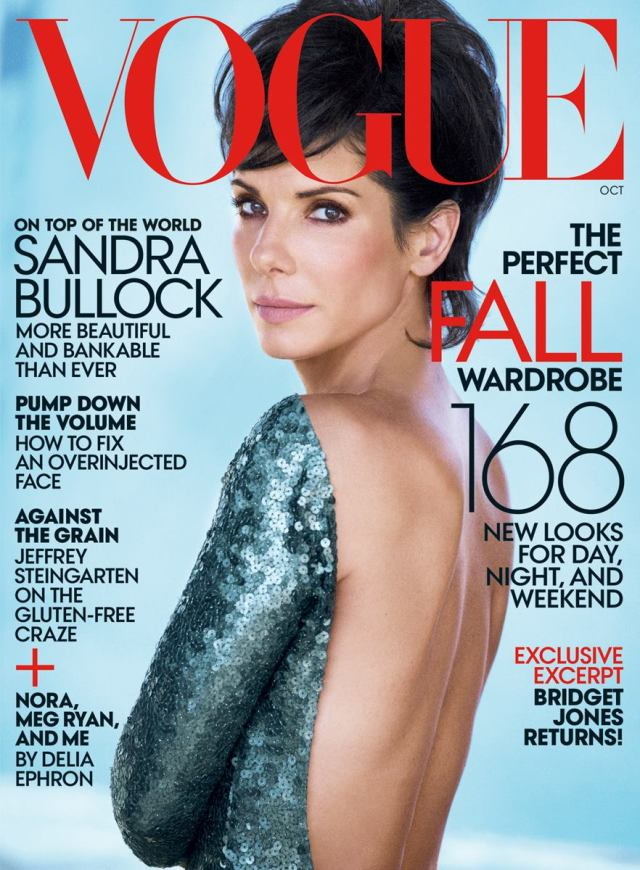 Vogue Sandra Bullock Marc Jacobs