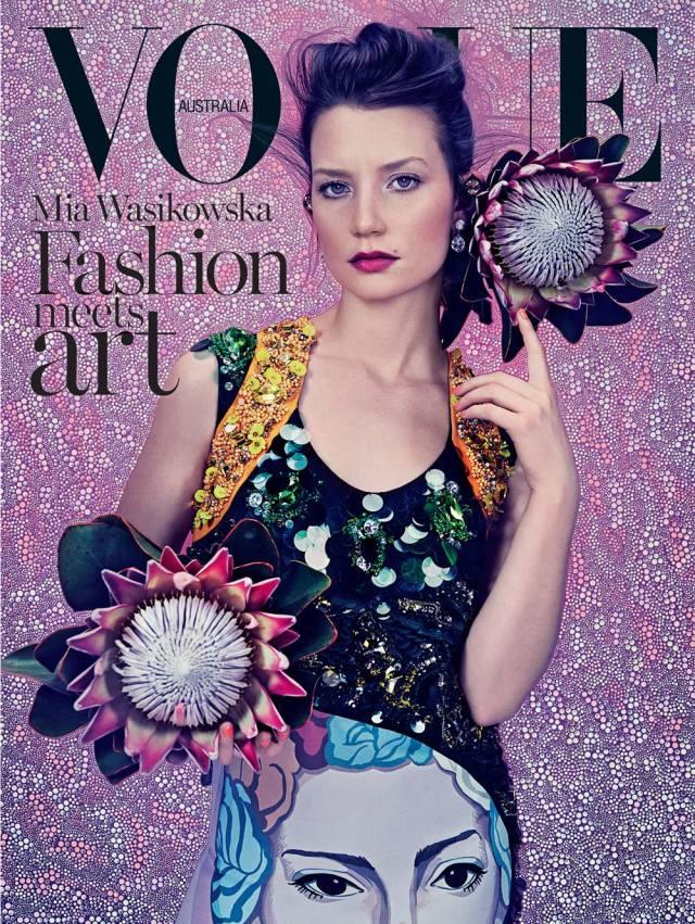 Vogue Australia Fashion art
