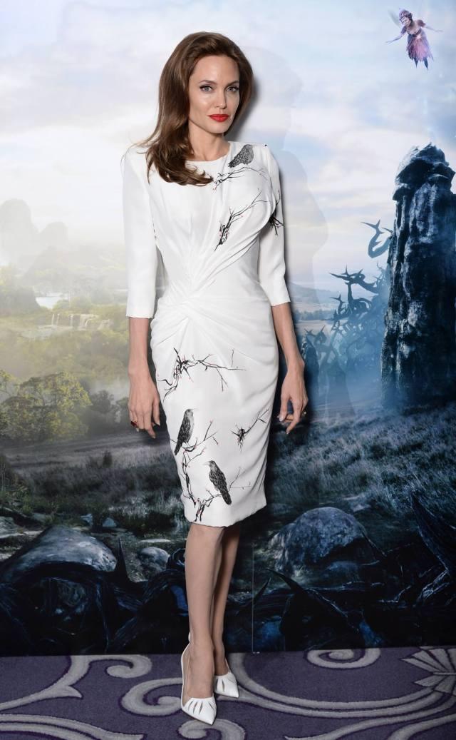 Versace Angelina Jolie
