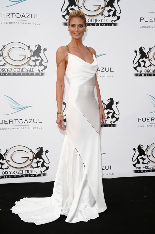 Versace Heidi Klum