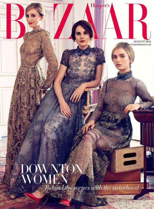 Harper´s Bazaar Downton Abbey