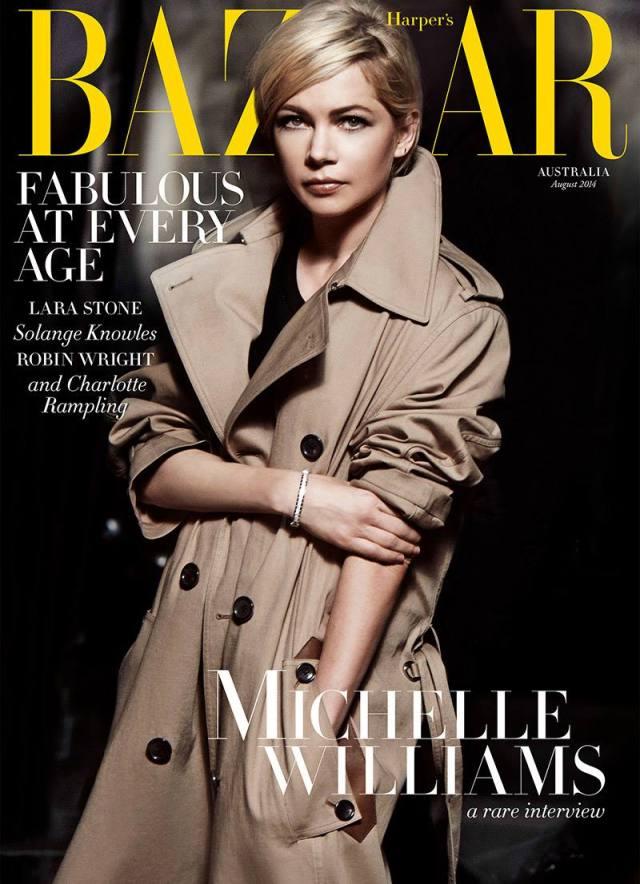 Michelle Williams Harpers Bazaar