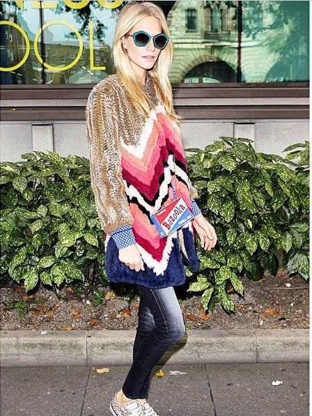 Poppy Delevigne in Manoush
