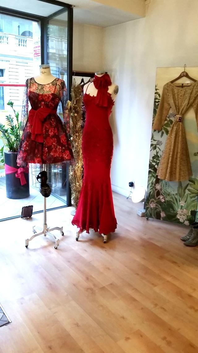Red dress Las Divinas moda mujer