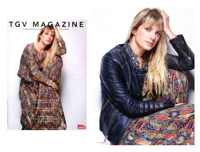Mélanie Laurent Manoush TGV Magazine