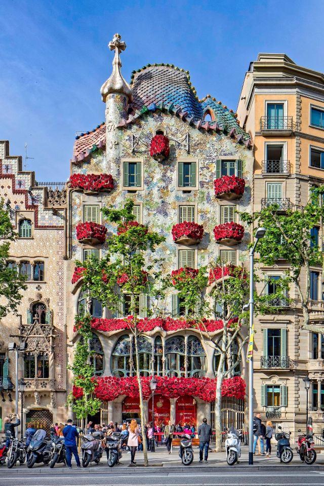 Casa Batlló Guadí Barcelona